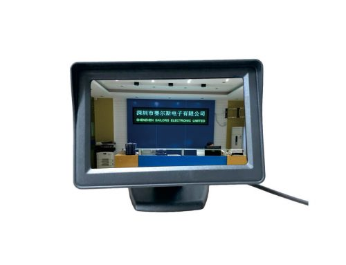 "4.3""  High Definition Vertical Monitor for Universal Car 480×272(SL-4002)"
