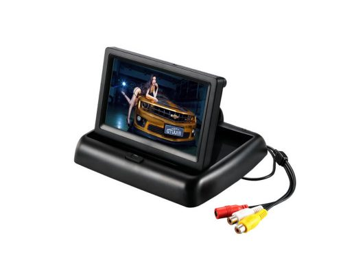 "4.3""  High Definition Fold Monitor for Universal Car 480×272(SL-4003)"